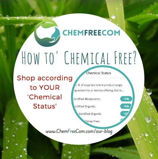 Shop according to your Chemical Benchmark!