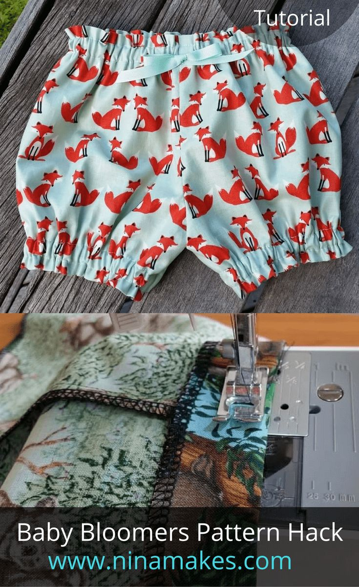 Gorgeous Baby Bloomers Pattern Hack By Nina Makes McCall's M6912
