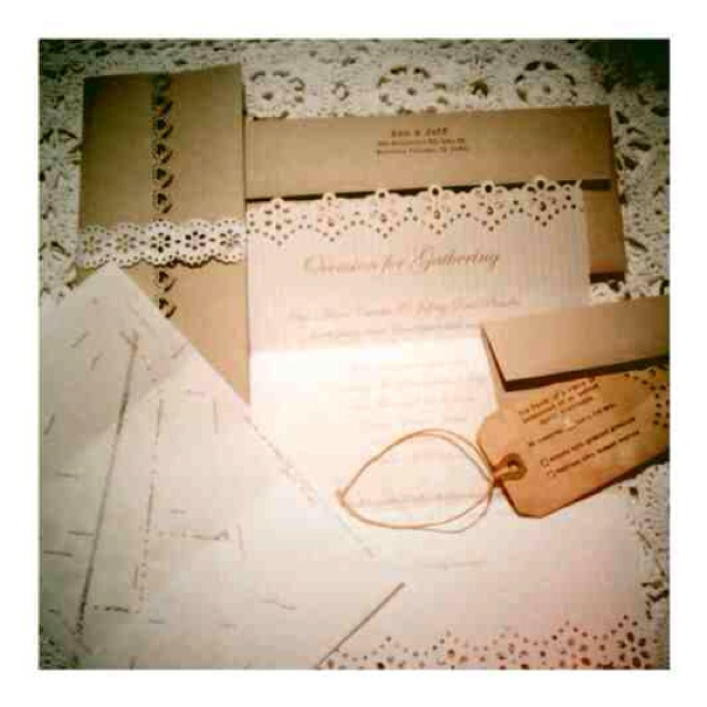 Vintage Inspired Wedding Invitations Totally Gonna Do This