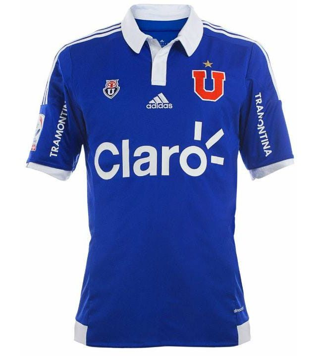 Camisas da Universidad de Chile 2015 Adidas