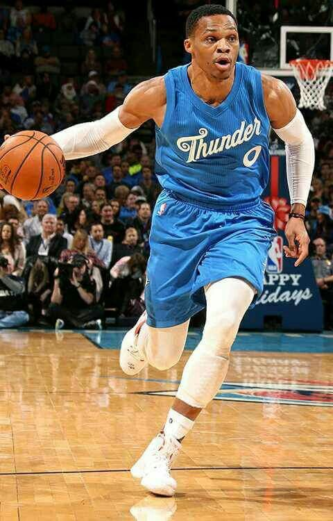 Russell westbrook December 25, 2016 @ OKC