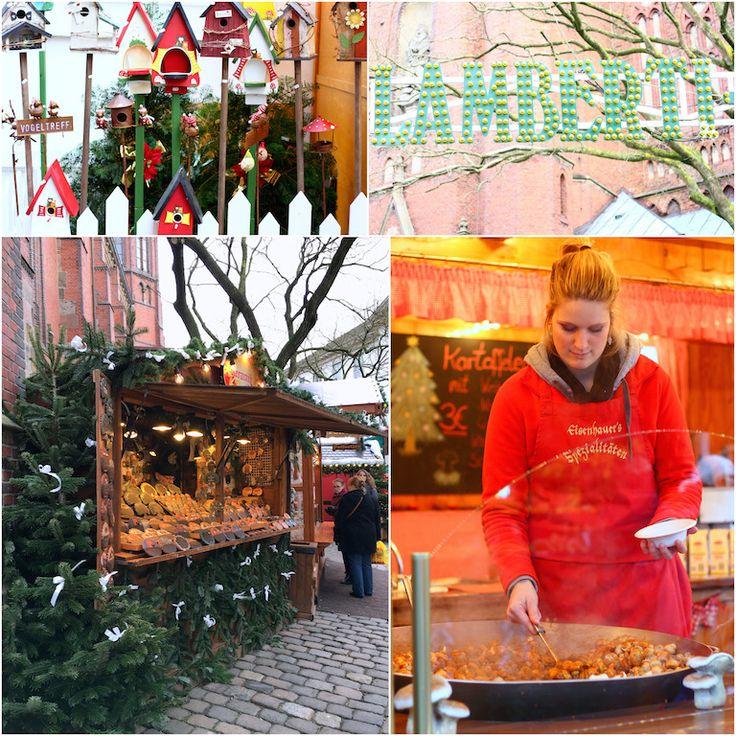 Kom volledig in de kerststemming op de Lamberti-Kerstmarkt in Oldenburg
