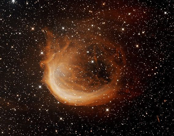 Planetary nebula Sharpless 2-188 Photo by T.A. Rector (University of Alaska Anchorage) and H. Schweiker (WIYN and NOAO/AURA/NSF)