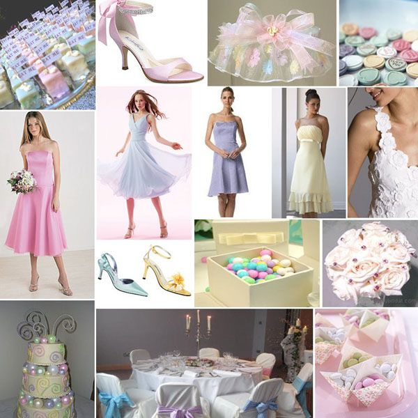 For A More Casual And Informal Wedding You Can Play Around With Pastel Colours Pastels Are Soft Gir