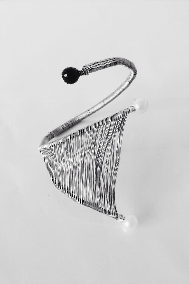 Wire corsage by NO NO NO