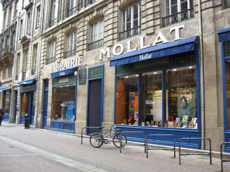 Librairie Mollat, une bonne raison d'habiter Bordeaux. Bordeaux, France