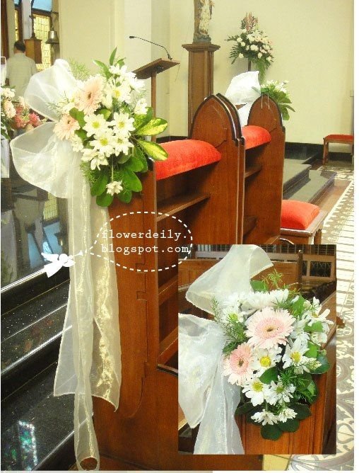wedding decorations for church chairs 28 best images about church weddings decorations on 9107
