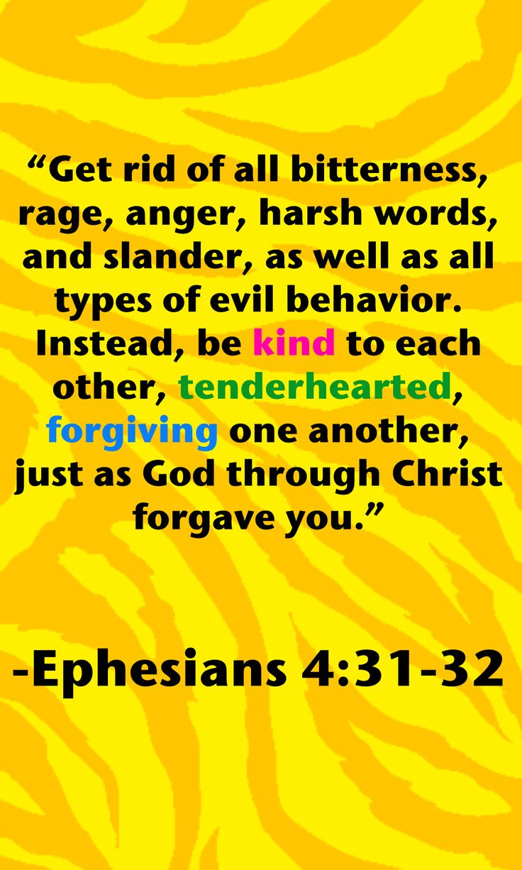 Ephesians 4:31-32 | I Belive | Pinterest | Faith bible ...