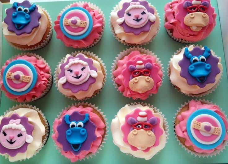 Doc McStuffins Birthday Cake | Doc Mcstuffins Cupcake Toppers Printables Disney Familycom Picture