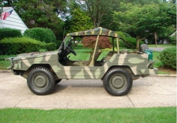 1980 Volkswagen ILTIS Military Jeep Thing For Sale