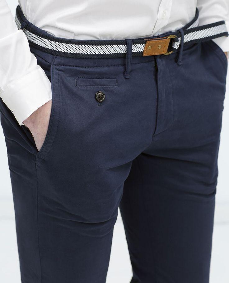ZARA - HOMBRE - Pantalón colores