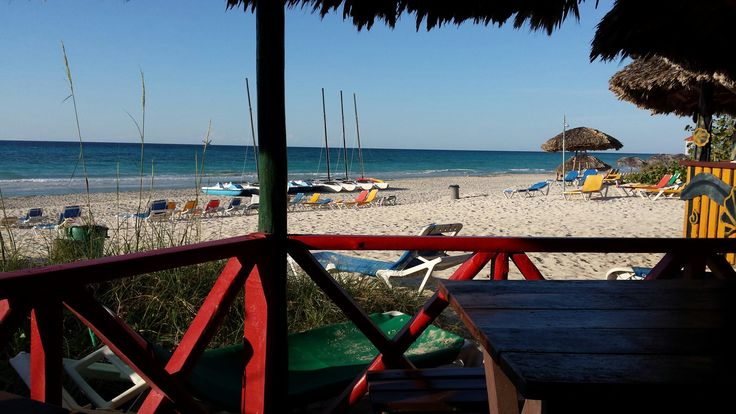 View from beach bar Hotel Tuxpan 🏖⛵