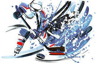 Fototapeta Lední Hokej 3361