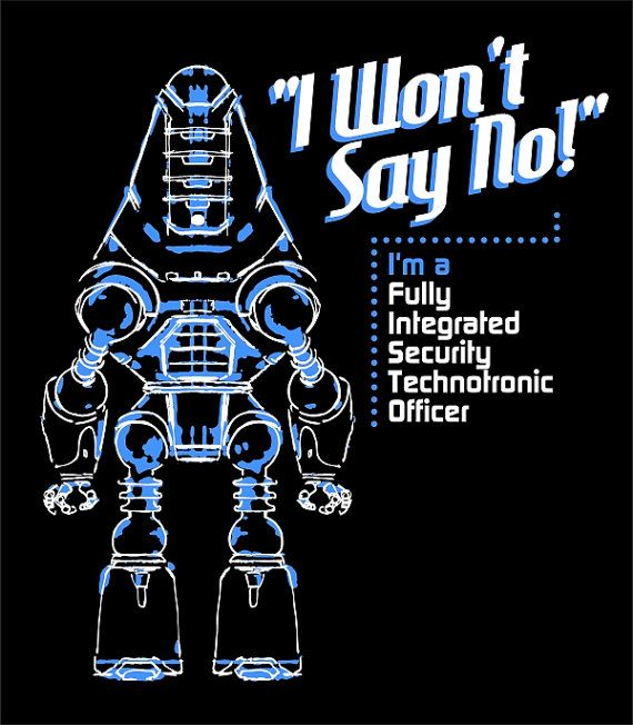 """Fallout - F.I.S.T.O """"I Won't Say No"""" T-Shirt I think I might need this omg.. Best. Fallout. Shirt!!"""