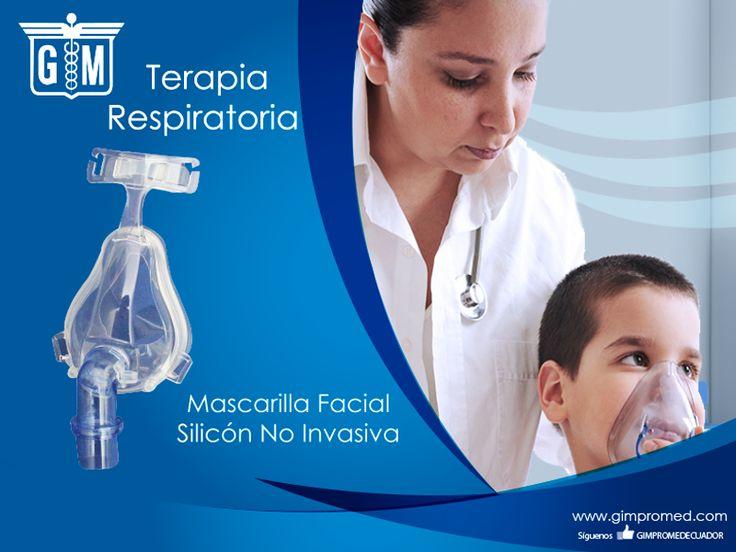 Gimpromed - Catálogo Terapia Respiratoria Producto: Mascarilla Facial Silicón No Invasiva