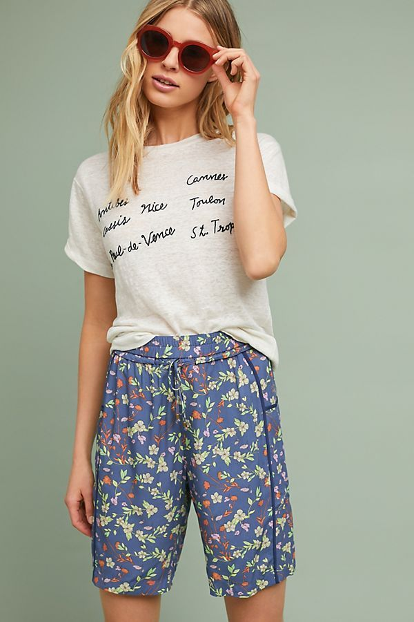 Blossoming Bermuda Shorts | Anthropologie