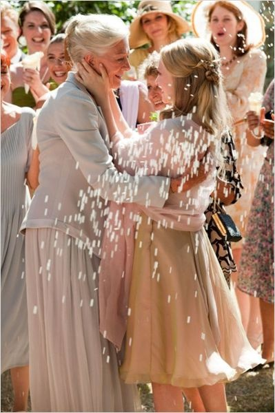 Cinema inspira até pra fotografar casamento, quando lembro de cenas assim. (Cartas para Julieta)