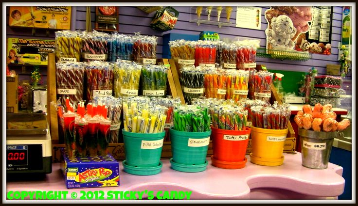 Candy Store Displays | Sticky's Candy is the LARGEST Candy Store in Beautiful, British ...