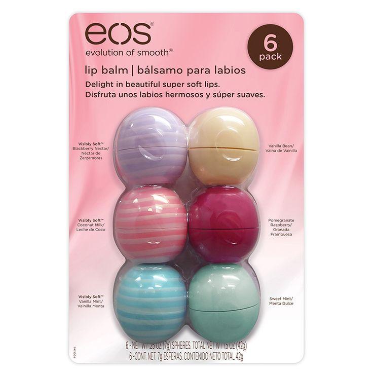 EOS Bálsamo Organico 6 piezas para labios | Costco Mexico