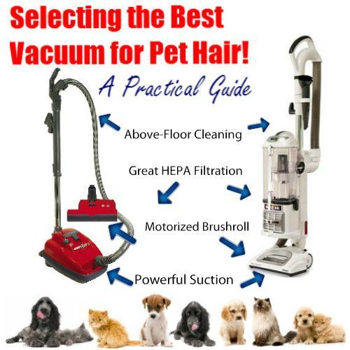 LATEST 2016 Recommendations .. all Categories of PET HAIR VACUUMS! Finally, Floor Care Pro Guide to selecting the Best Pet Hair Vacuum...Tips for getting..