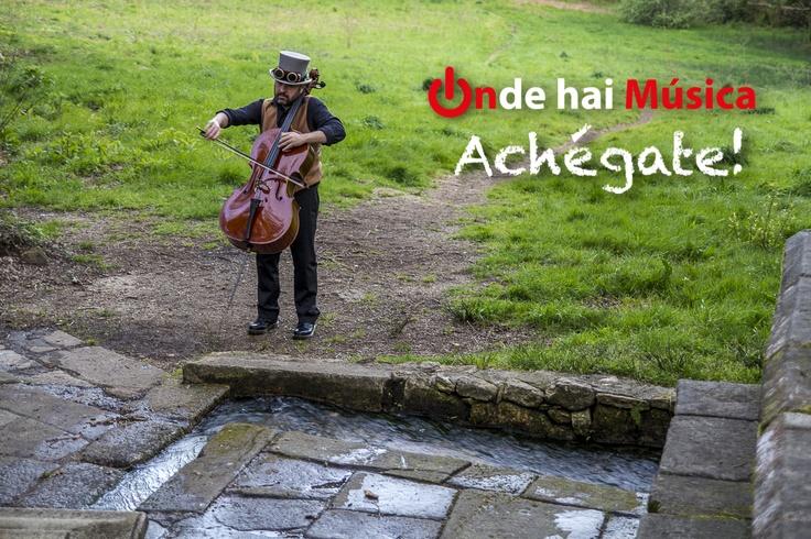 "A foto fala por si mesma, ""Achégate onde hai música!""  ondehaimusica.galiciasustentable.org  www.facebook.com/ondehaimusica    Fotografía Xaime Cortizo"