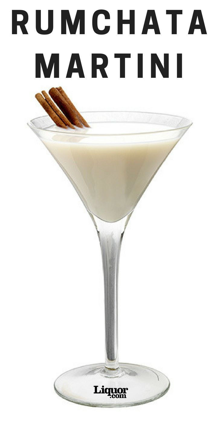 Perfect for the holidays, you'll savor every flavorful sip of this Martini. #Rumchata