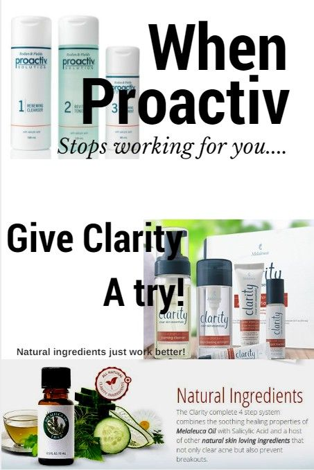 My daughter used Proactiv~~ and it worked…  for a couple of months.  She switc…