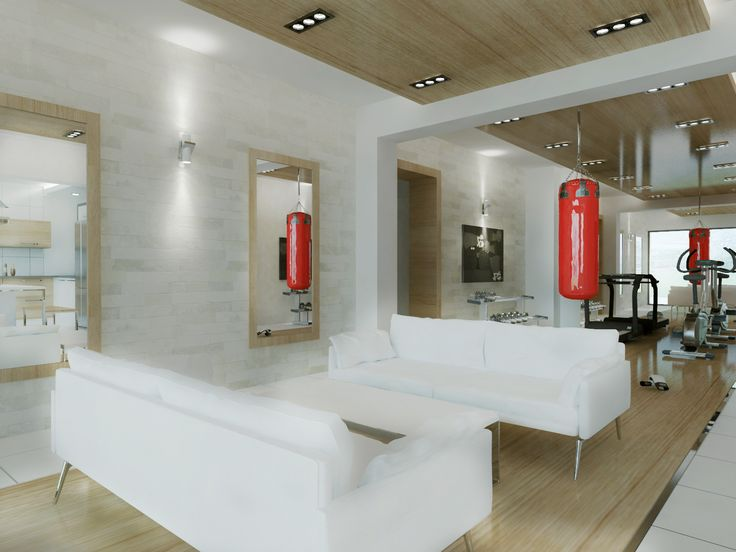 Villa Tasarımı Spor Alanı