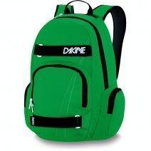 Dakine ATLAS Skate Rucksack (25L) Green: Der brandneue Dakine ATLAS Rucksack bietet dir viel Stauraum für alles, was du unterwegs brauchst und eignet sich u.a auch als Schulrucksack / Schulranzen. Ansonsten ist der Rucksack mit allen klassischen Features ausgestattet. Zwei RV-Seitentaschen, eine Organizertasche vorne, gepolsterte Rückenfläche und Schultergurte, eine mit Fleece gefüttertes Fach zum Schutz deiner Sonnenbrille und natürlich dem praktischen Skateboard Transportsystem.