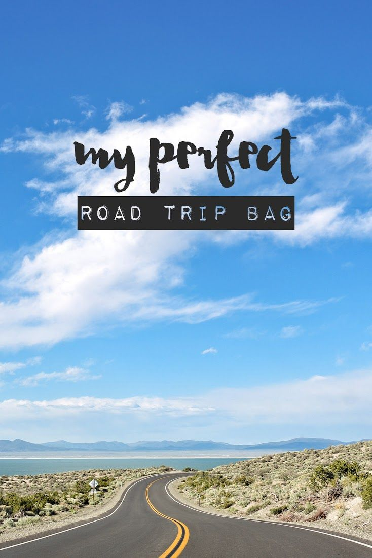 My Perfect Road Trip Bag - All My Road Trip Essentials {plus click through to win a kindle fire + travel bag}