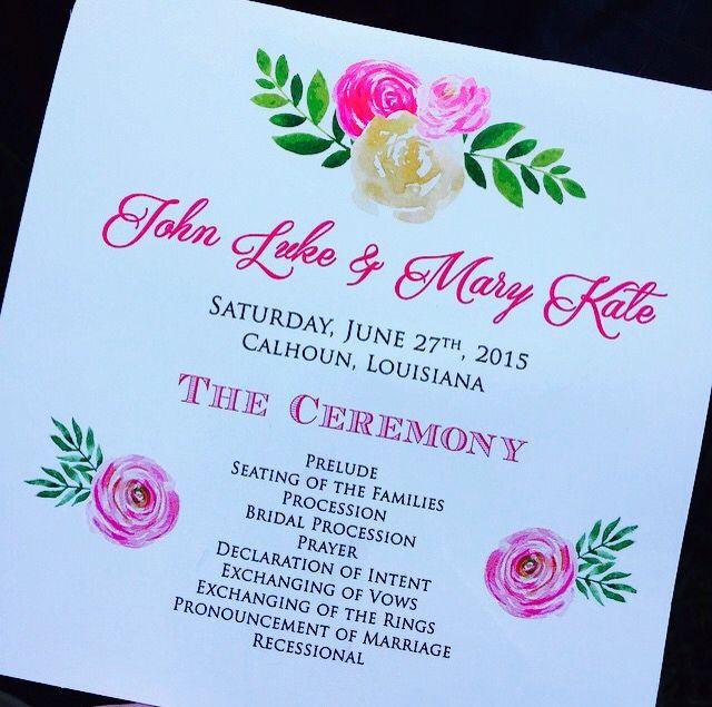 john luke & mary kate wedding