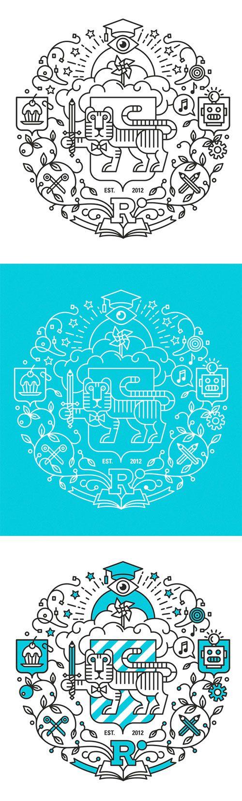 Respublica University emblem