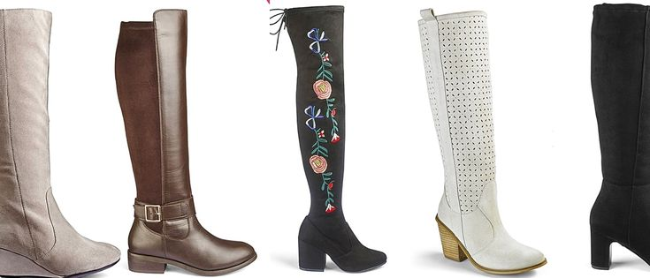 #PlusModelMag It's BOOT Season… Wide Width and Wide Calf Boots Have Never Looked Better! #PLUSmodelmag