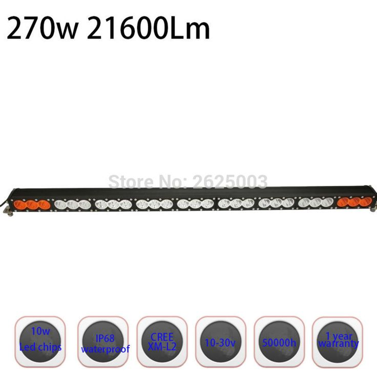 ==> [Free Shipping] Buy Best 270W 48 49inch Dual Color Single Row Led Light Bar Work Driving Lamp with Fog Function for Volkswagen Toureg SUV ATV UTV Truck Online with LOWEST Price | 32758399460