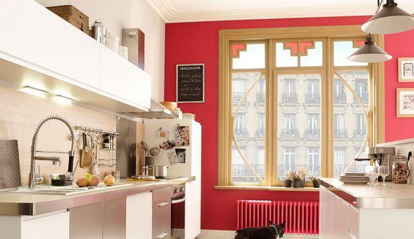 """5 conseils pour repeindre un carrelage de cuisine. Ou comment rajeunir un vieux carrelage ringard sans se lancer dans de gros travaux avec les peintures """"spécial sol""""..."""