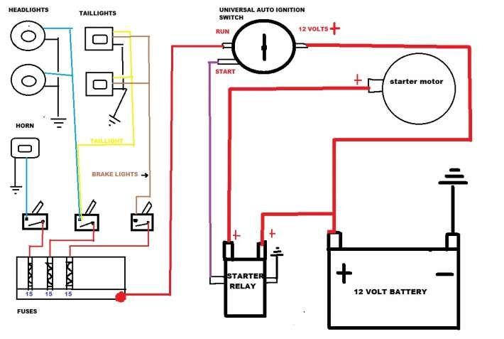 Basic Wiring Diagram Chinese Electric Start And Buyang Cc Atv Wiring Diagram Technical Diagrams Electrical Wiring Diagram Power Wheels Makeover Power Wheels