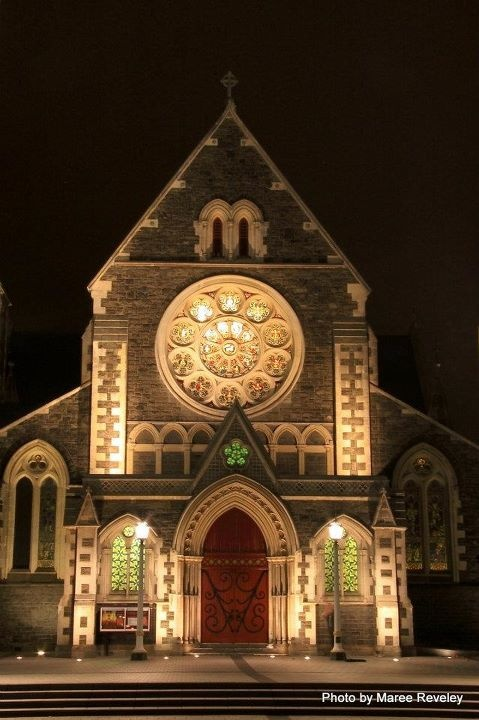 Christchurch cathedral, (pre-earthquake)