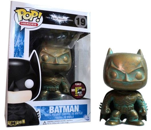 Batman (The Dark Knight Rises) (Patina) Pop! Heroes « Funko Pop ...