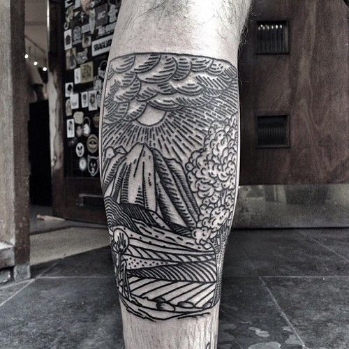 thecirclelondon:  #tattoo by @horikola at #thecirclelondon  (at...