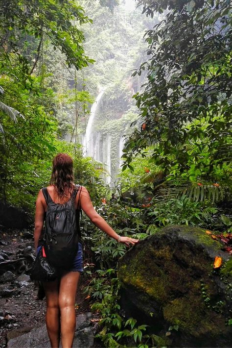 Here's exactly how to find the Tiu Kelep waterfall In Lombok, Indonesia - one of the most unique and beautiful waterfalls in Southeast Asia.
