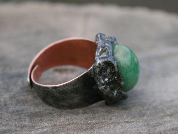 emerald ring signet ring emerald signet men by Blacksmithworkshop, #emeraldring, #signetring, #menring,