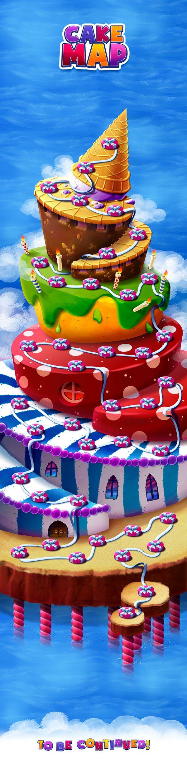 CAKE MAP on Behance