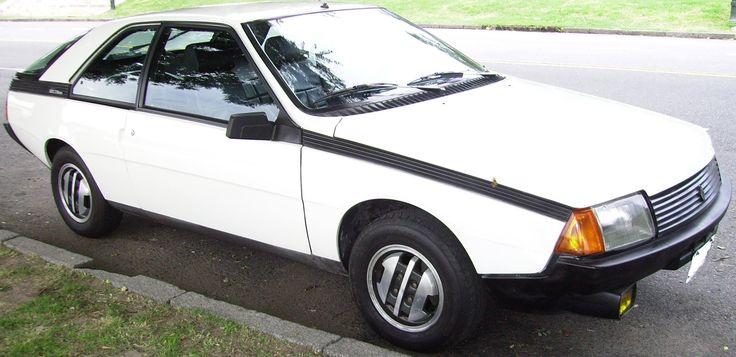 #Renault Coupé Fuego #GTX. http://www.arcar.org/renault-coupe-fuego-gtx-82632