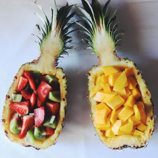 pineapple boats!