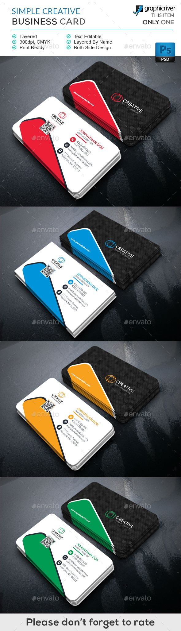 9 best exotic business cards images on pinterest exotic simple creative business card magicingreecefo Image collections