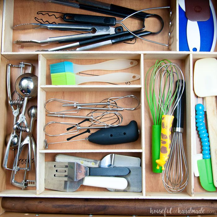 kitchen cabinet utensil organizer best 25 kitchen drawer organization ideas on 19747