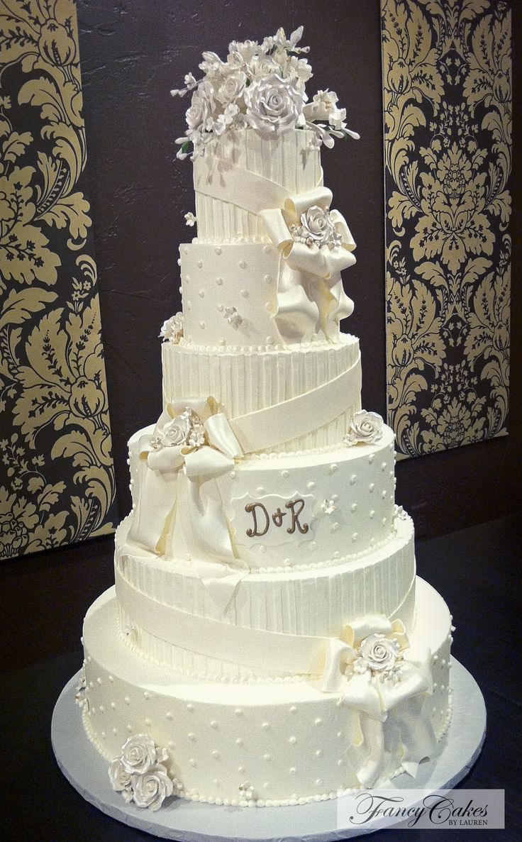 46 best wedding cakes by lauren images on pinterest cake wedding drapes and classic detailing wedding cake junglespirit Image collections