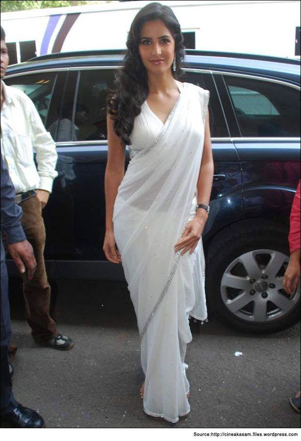 katrina kaif white saree  #KatrinaKaifSaree #WhiteSaree