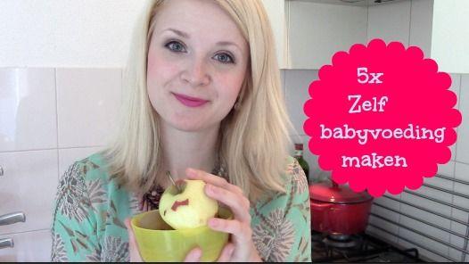 5x Heerlijke hapjes zelf maken! Video! Zelf babyvoeding maken: Maak zelf het groentehapje, fruithapje, een heerlijk ontbijtje en andere maaltijden voor je kindje vanaf 4 maanden : Budget en gezond