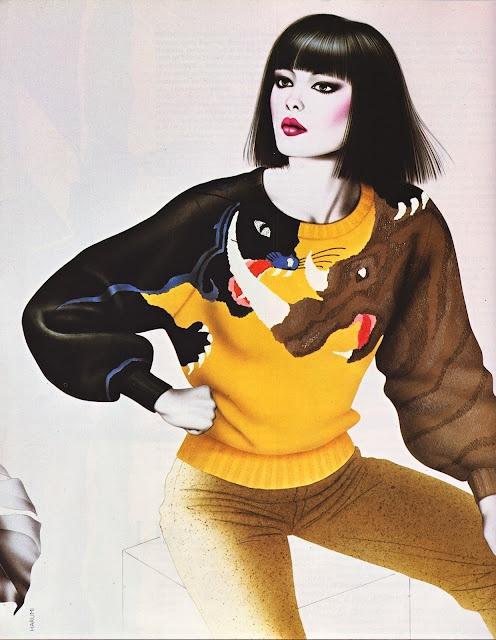Krizia // Vogue Italia Feb 1983